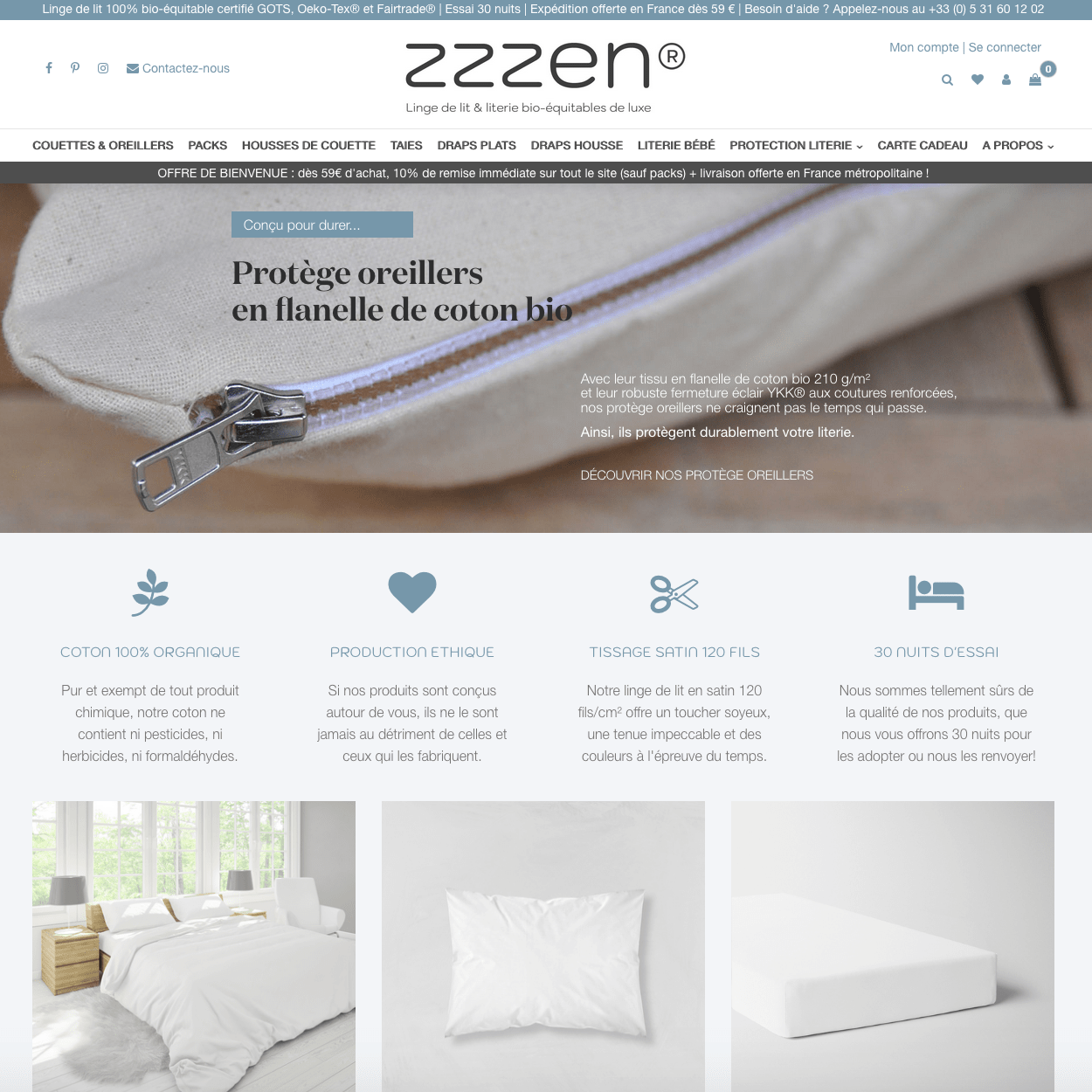 Site ZZZen Organics